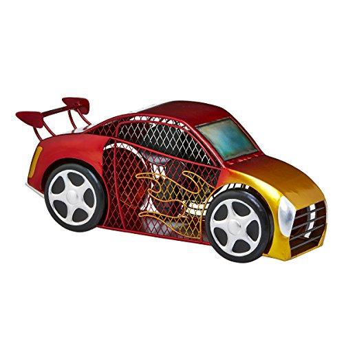 - DecoBREEZE Table Fan Single-Speed Electric Circulating Fan, Red Race Car Figurine Fan