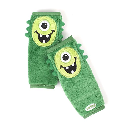 Nuby Monster Strap Covers Green