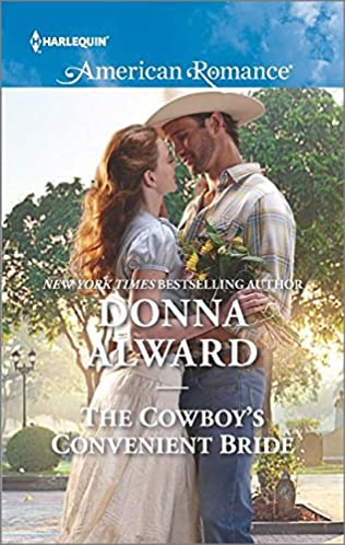 book cover of The Cowboy\'s Convenient Bride