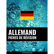Fiches de révision en allemand: 800 fiches de révision essentielles allemand-français et français-allemand (French Edition)