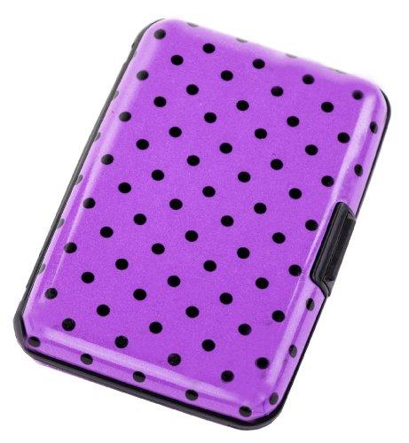 aluminum-hard-case-credit-cards-wallet-pink-polka-dot