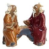 Bonsai Tree Chinese Mudman Figurine | 2.25