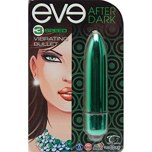 "Eve After Dark Vibrating Bullet, 3.25"", Jade Green"