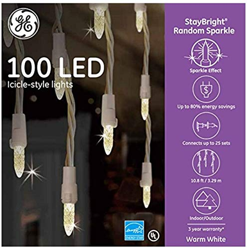 100 Led Icicle Lights in US - 1