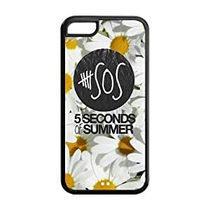 Personalized Keep Calm and Listen to Five Seconds of Summer 5 SOS Colorful Phone Case Suitable for iPhone 5C hjbrhga1544