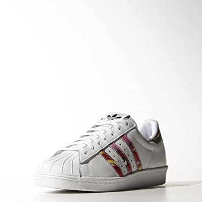 Adidas Originals Women's Rita Ora Superstar 80s Shoes B26730,9.5