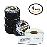 """Dymo Compatible 30320 LabelWriter Self-Adhesive White Address Labels, 1-1/8"""" x 3-1/2"""" (4 Rolls, 260 Labels Per Roll)"""