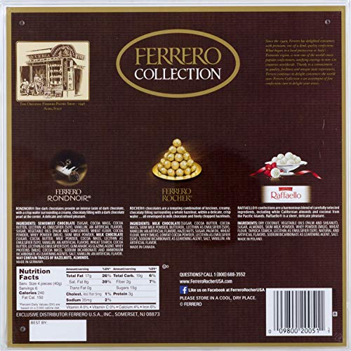Large Product Image of Ferrero Collection Fine Assorted Confections and Chocolates, 24 Piece Gift Box