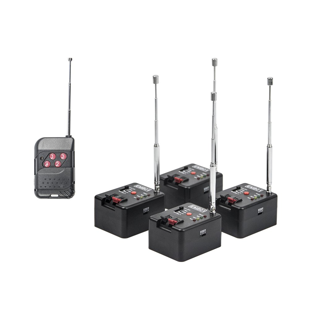 4 Cue Remote Wireless Control System EMB01-04R Emyplay