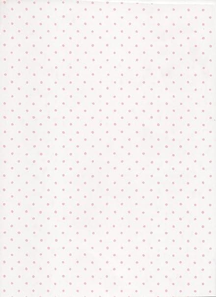 papel pintado lunares rosa 11258 - Papel Pintado Lunares