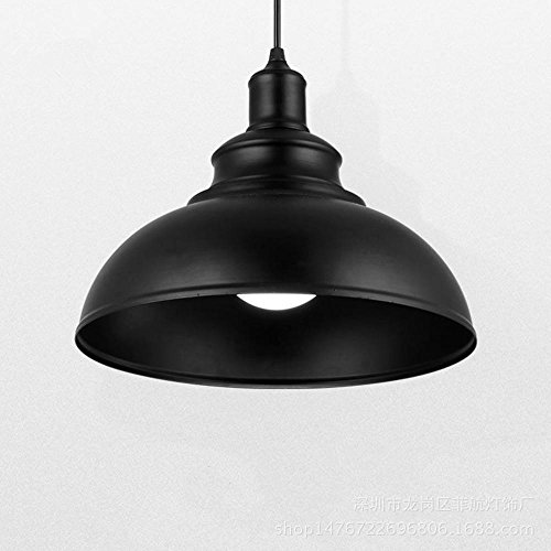 Chandelier Retro Industrial Iron Pendant Lighting bar Table lamp Chandelier LOFT Creative Cafe Coffee Shop Internet Chandeliers, Black