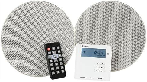 Adastra WA-210-SET - Amplificador de Pared y Altavoz de Techo con Bluetooth
