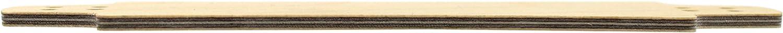 Includes Prolific Foam Tape Teak Tuning Wooden Fingerboard Deck Flat Classic Shape /& Size Longboard Style 33.3mm x 130mm Birch Custom Made in The US Five Plies of Birch Plywood