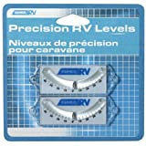 Camco 25553-X RV Precision Curved Ball Levels