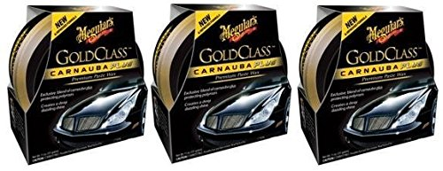 Meguiars G7014J Gold Class yVSzt Carnauba Plus Paste Wax, 11 Oz. (3 Pack)