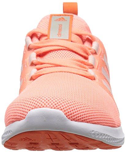 Adidas Performance fresca de rebote W zapatillas de running, negro / negro / color de rosa la mitad, Sun Glow Yellow/Half Pink/Orange