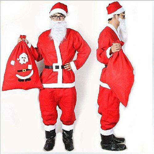 WeLove Men's Santa Costume Stage Performance