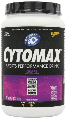 Cytomax Спорт Energy Drink, Grape 4,5-фунт Кувшин