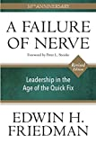 A Failure of Nerve, Revised Edition: Leadership in