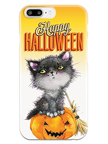 Inspired Cases Happy Halloween - Cute Watercolor Cat Case - Apple iPhone 8 -