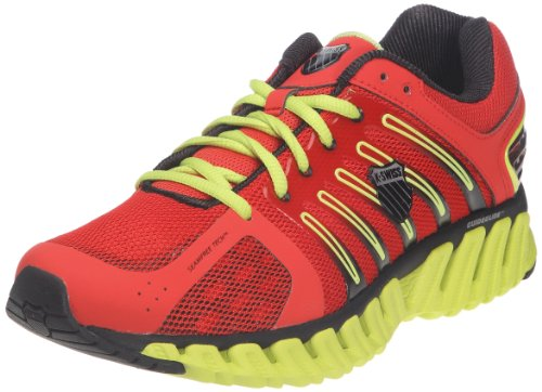 K-SWISS Men's Blade-Max Stable Running Shoe,Fiery Red/Optcyl