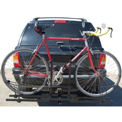 New 2 Mountain Bike Hitch Rack Carrier 2'' Rear for SUV VAN Truck by AJ