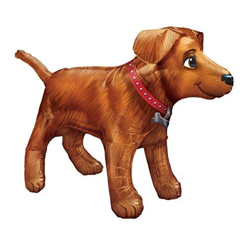 1 Golden Dog Party Balloon New Puppy paw Retriever Gift Favors Birthday XXL 36 inch