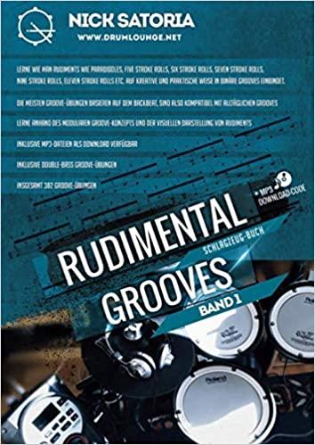 Rudimental Grooves - Band 1: Band 1: Volume 1: Amazon.es ...
