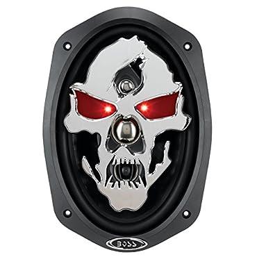 Boss Skull SK694 6x9 1400W 4 Way Speakers (2 Pairs)