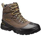 Columbia Men's Snowcross Mid Thermal Coil Waterproof Winter Boots (7.5, Mud,Inca Gold)