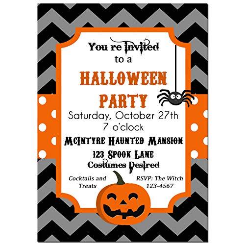 amazon com halloween party invitation halloween invitation
