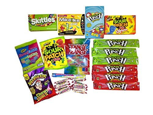 The Extreme Sour Candy Bundle -25 Items