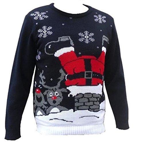 nuova collezione 8b271 4ab2d London Knitwear Galleria di Natale Divertente novità Retro ...