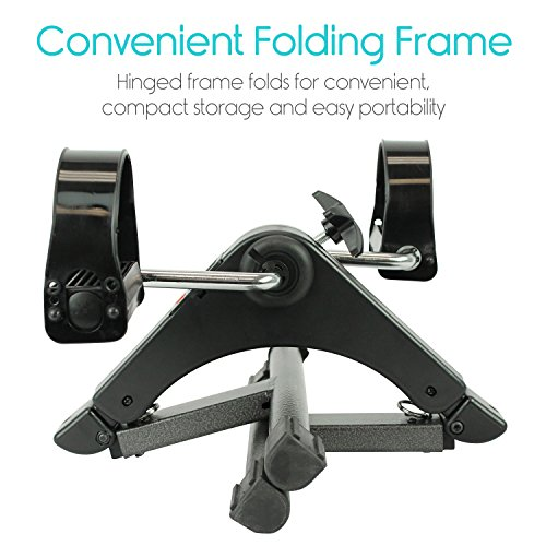 Folding Pedal Exerciser by Vive