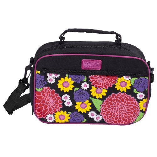 insulated on the go lunch carrier dahlia perfect fit for the laptop lunches bento box for. Black Bedroom Furniture Sets. Home Design Ideas