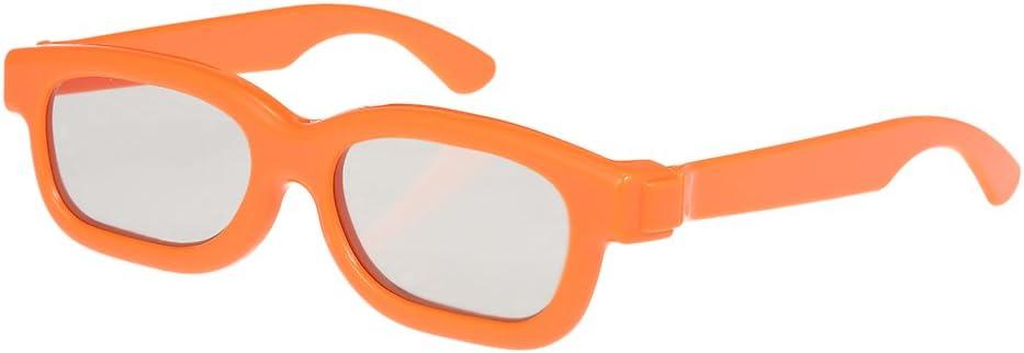 Docooler Gafas 3D Pasivas, Lentes Polarizadas Circulares Gafas 3D para Sony Panasonic para TV Polarizada Cines 3D Real D para Niños: Amazon.es: Electrónica