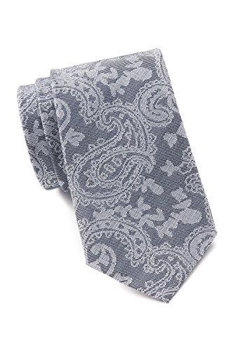 Ben Sherman Men's Paisley Silk Tie (Navy)