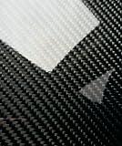 Real Carbon Fiber Panel 6''x24''x1/4''