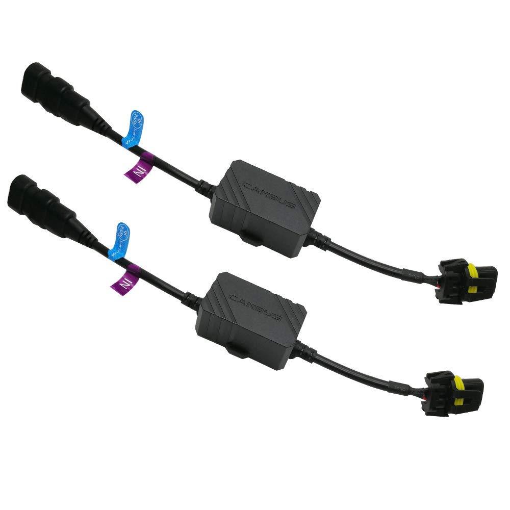 H7 AnyCar Led Headlight Decoder H7 Canbus Resistor Anti-flicker Harness Headlight Bulb Decoder for LED Headlight Warning