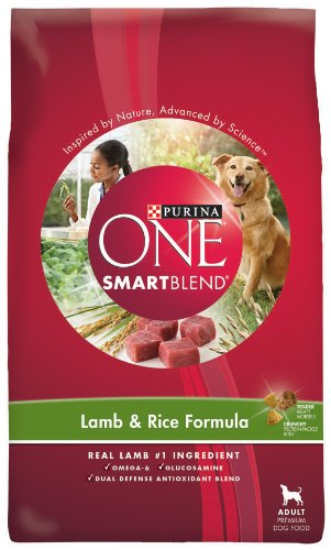 Purina One Lamb and Rice Dog Food, 4-Pound Bags (Pack of 6), My Pet Supplies