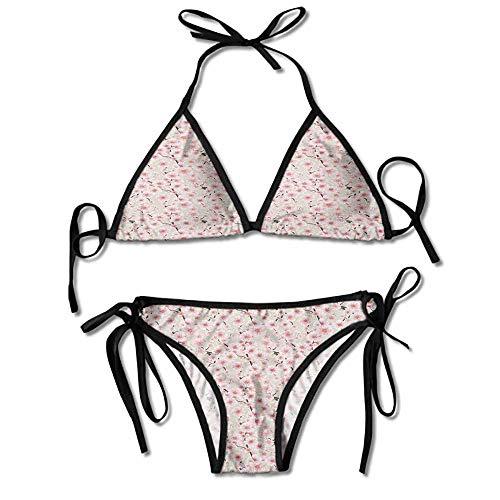 Removable Strap Wrap Bikini,Spring in a Random Sexy Bikini 2 Pieces ()
