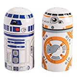 Vandor Star Wars BB-8 and R2D2 Sculpted Salt and Pepper Set (99030)