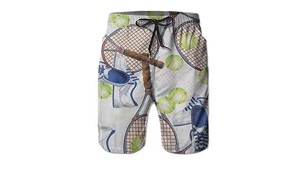 Bensontop Tenis para Hombre Boardshorts Boardshorts No se encoje ...