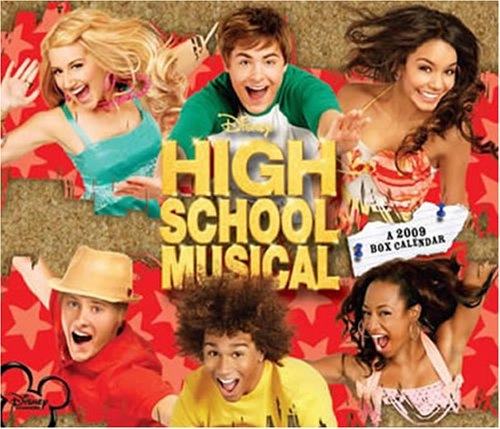 High School Musical 2009 Boxed Calendar (2009 Box Calendar)