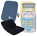 DURAGADGET Blue 7'' Shock-Absorbing Hard EVA Shell Case for the Texas Instruments Little Professor Solar