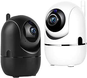 1080P Auto Tracking Surveillance Motion Detection Cameras WiFi Baby Monitor Home Security IR Night Vision Wireless CCTV IP Camera