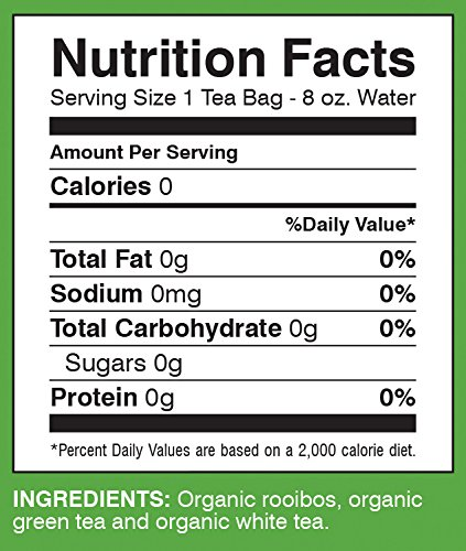 Davidson's Tea Red, Green & White Blend, 25-Count Tea Bags, 1.41 Oz (Pack of 6) by Davidson's Tea (Image #5)