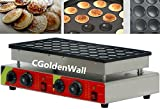 CGOLDENWALL NP-544 50pcs Automatic Poffertjes Grill Poffertjes machine poffertjes grill Dutch Mini Pancakes Machine Commercial Waffle Maker Waffle Baker Waffle Machine 110V/220V CE