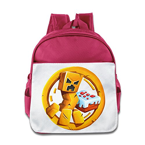Boomy Mine Video Game Lunch Bag For 3-6 Years Old Child Pink Size One Size