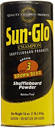 Sun-Glo #3 Shuffleboard Wax (16 oz.) (Pack of 2) ()